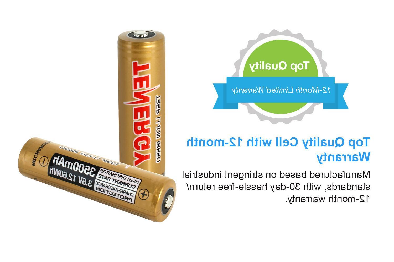 Tenergy 3500mAh Li-ion Batteries