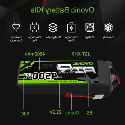 2X 22.2V Lipo Battery for