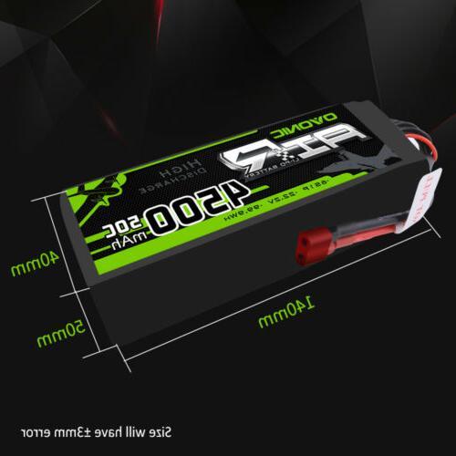 2X 22.2V 50C Battery for Car