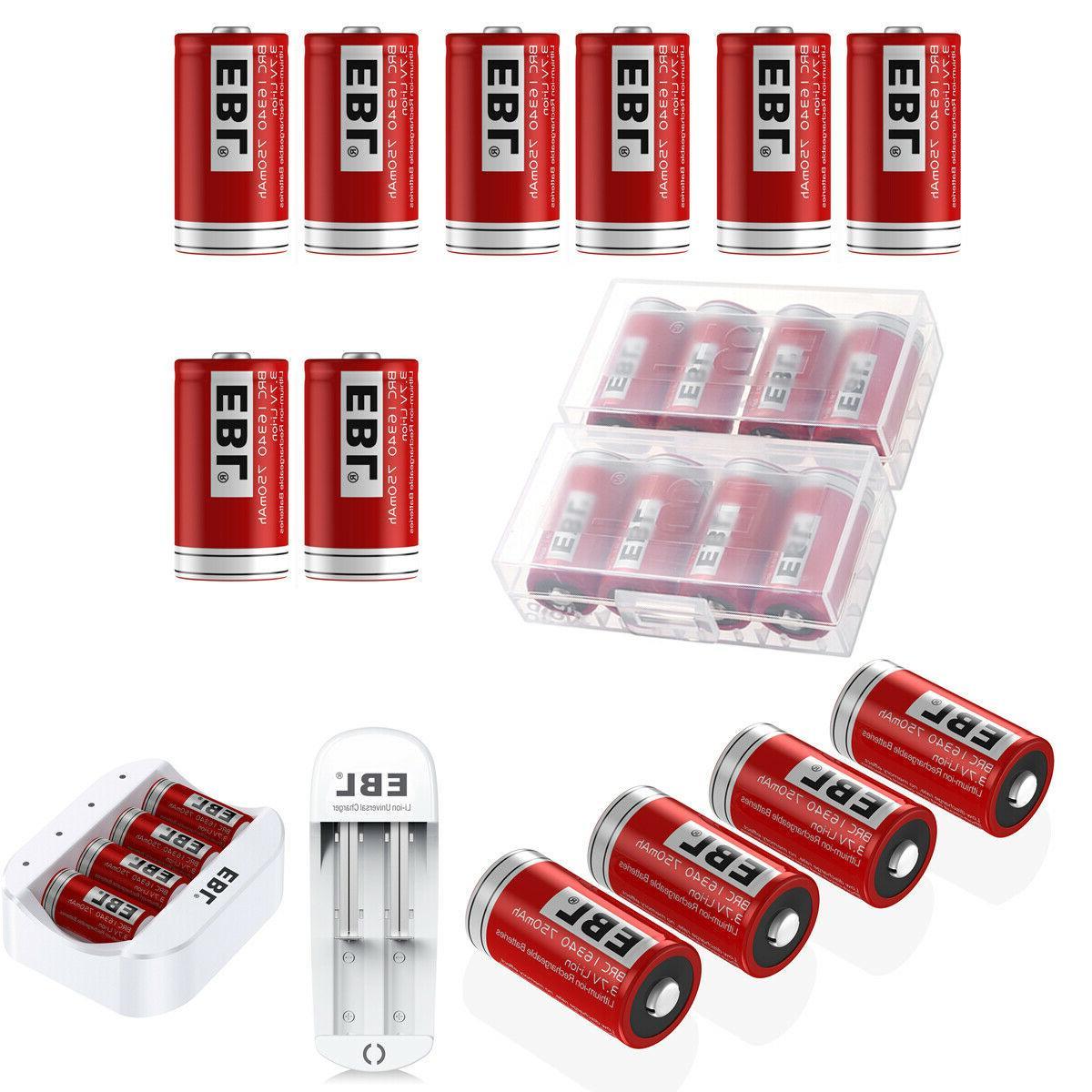 3 7v 16340 cr123a li ion rechargeable