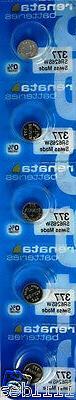 Renata 377 Swiss Made Watch 0% MERCURY Batteries