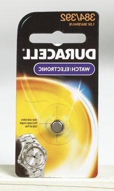 4 each: Duracell Silver Oxide Watch/ Calculator Battery