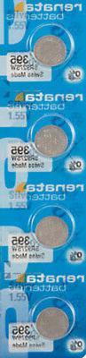 4 x Renata 395 Watch Batteries, SR927SW Battery | Shipped fr