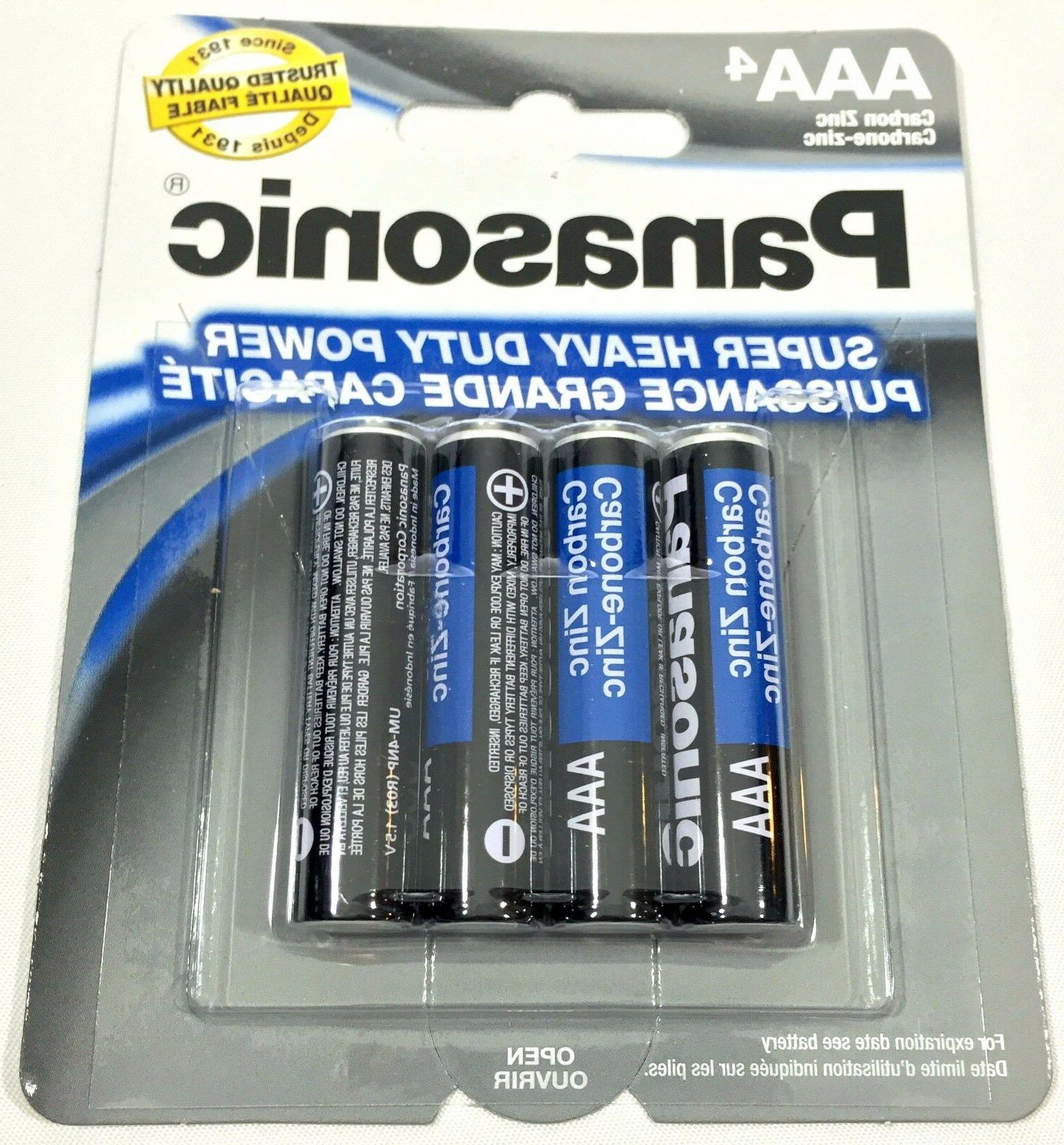40 Wholesale Panasonic AAA Triple Batteries Duty Battery Bulk lot
