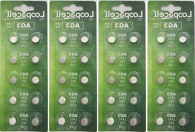 40 ag3 lr41 button cell coin alkaline