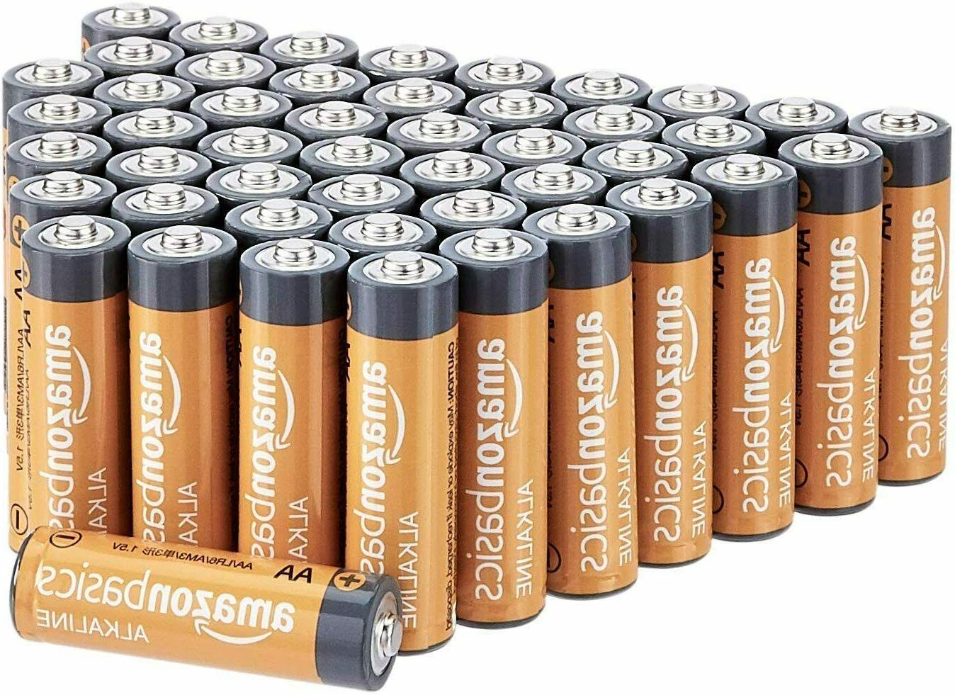 """PerfPower """"AA"""" Alkaline Batteries - 48 Pack"""