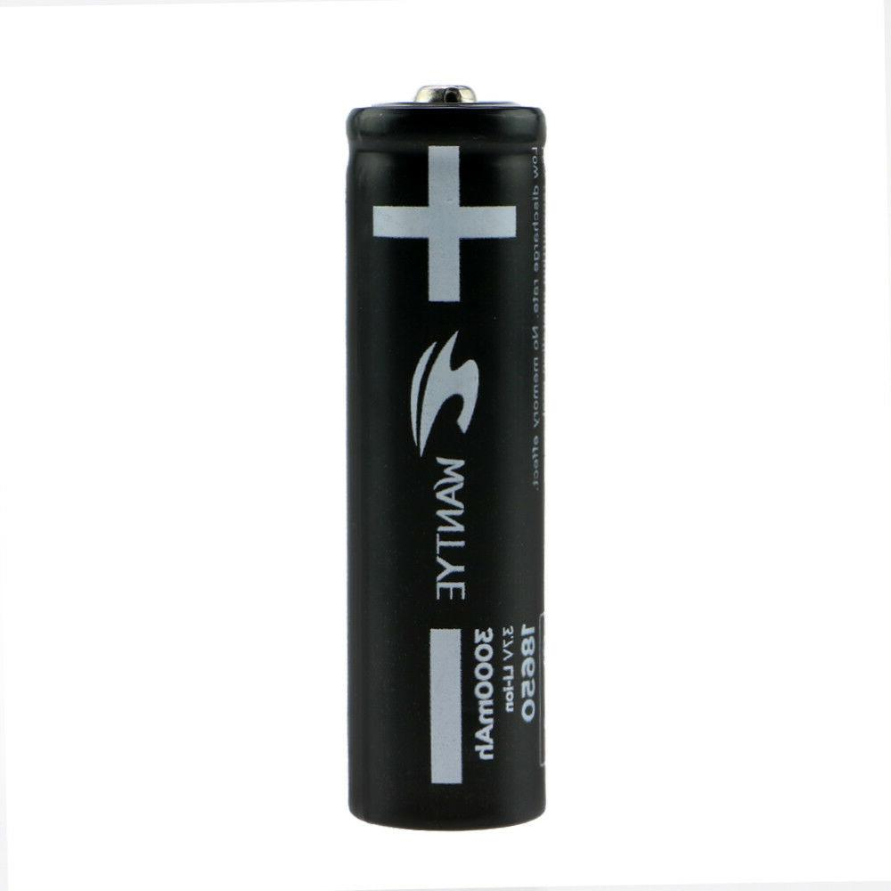 4Pcs 5800mAh 18650 Battery with Rechargeable