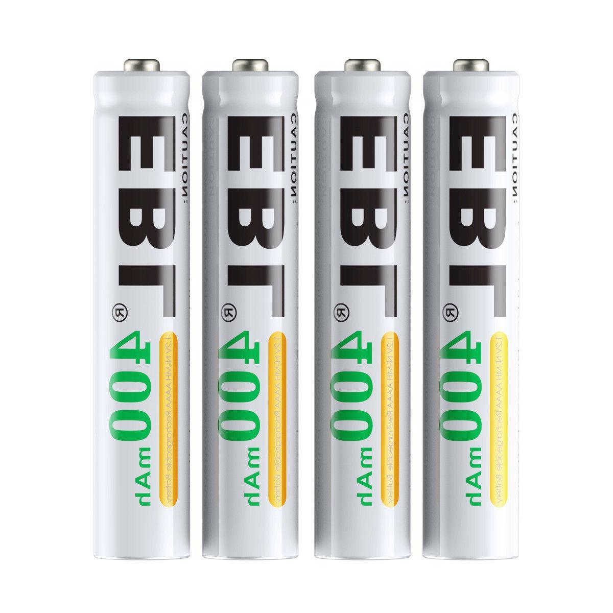 4x400mAh Rechargeable AAAA Batteries Replace Pen