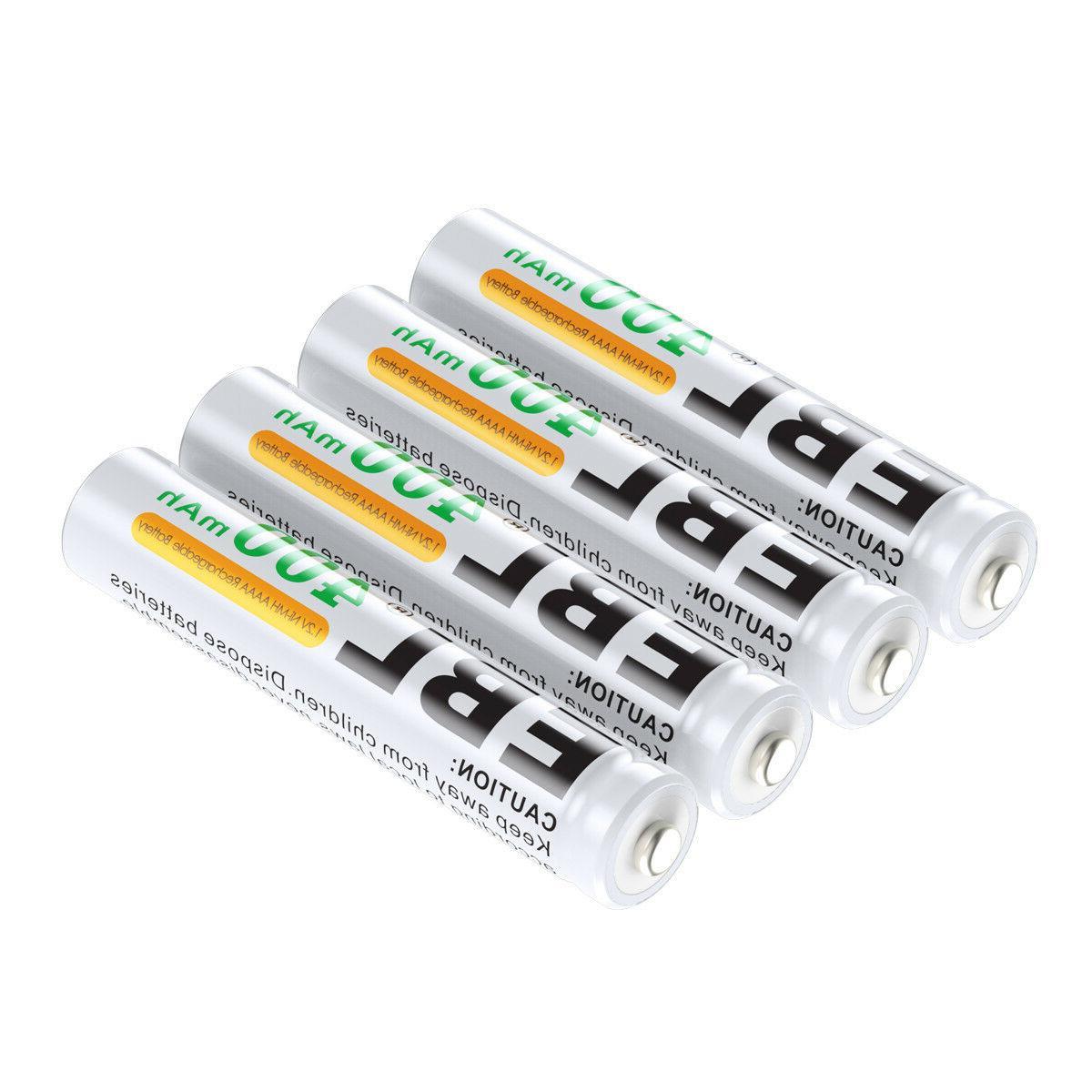 4x400mAh Rechargeable Batteries for Pen