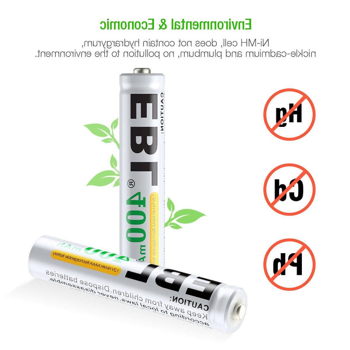 4x400mAh AAAA Batteries Replace Pen