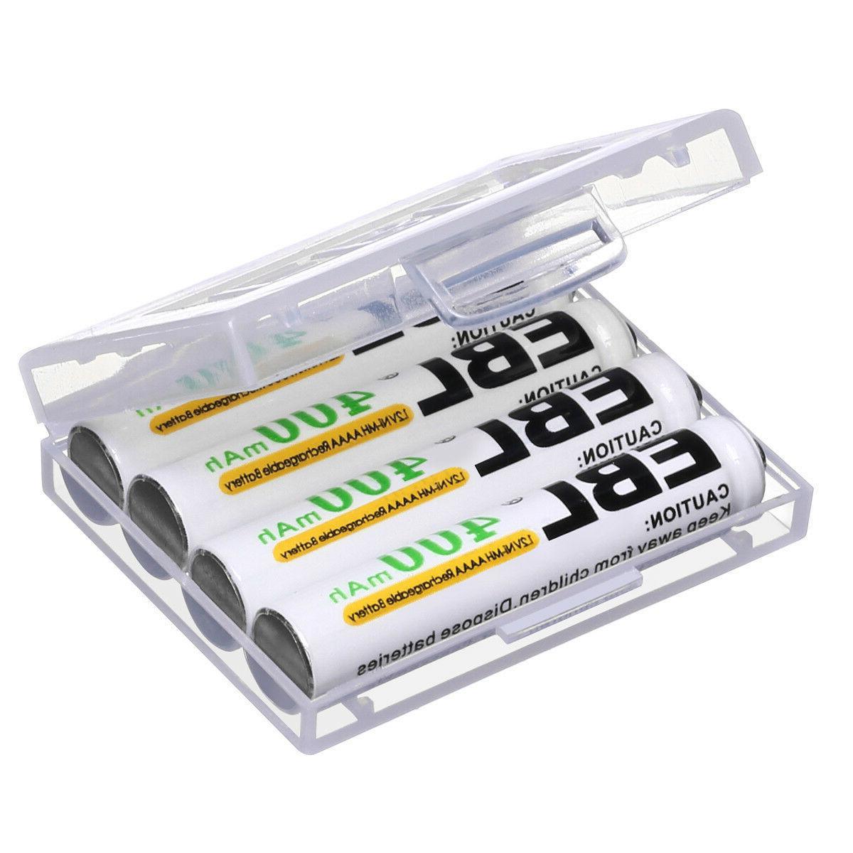 4x400mAh Ni-MH Rechargeable AAAA Pen