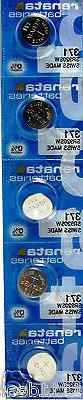 5 Renata 371 Mercury Free Silver Oxide SR920SW Watch Batteri