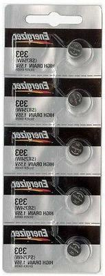 5 pcs Energizer 393/309 SR754 LR754 SR48 LR48 AG5 193 V393 D