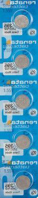 5 x Renata 395 Watch Batteries, SR927SW Battery | Shipped fr