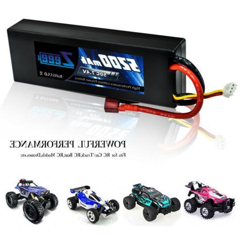 Zeee 50C 2S 7.4V Lipo Deans Car