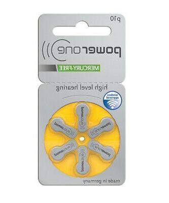 60 powerone mercury hearing aid