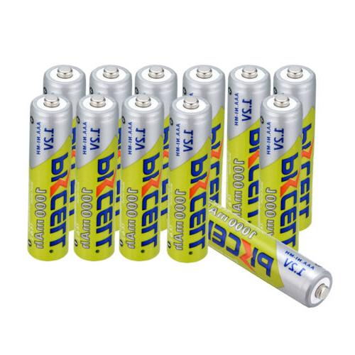 PKCELL 8-20PCS 1000mAh1.2V 3A Rechargeable Batteries For