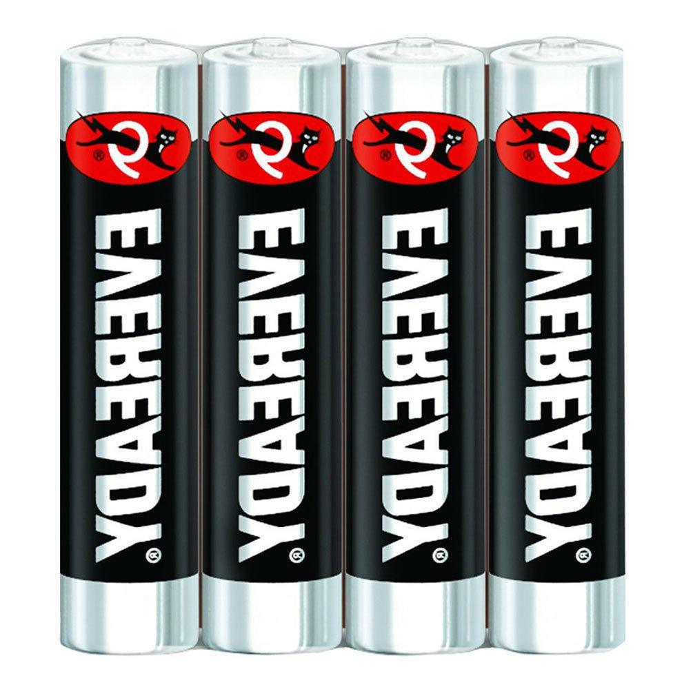 96x Eveready Super Heavy Duty Carbon Zinc 24 x
