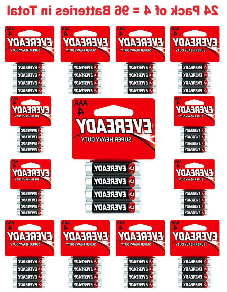 96x aaa batteries super heavy duty carbon