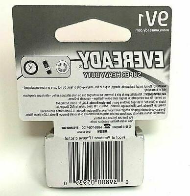 9V 1 Heavy Duty Batteries