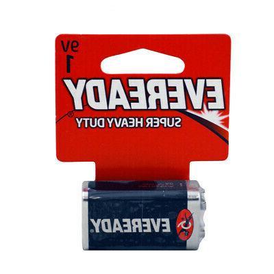 9V Eveready Heavy Duty Batteries of 2