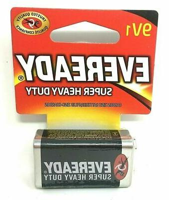 9V 1 Heavy Duty Carbon Zinc Batteries of