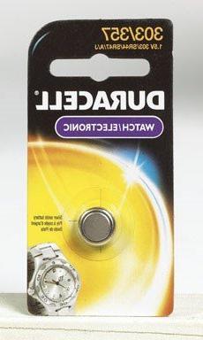 Duracell DL303/357BPK Watch / Electronic Battery, Pocket Tra