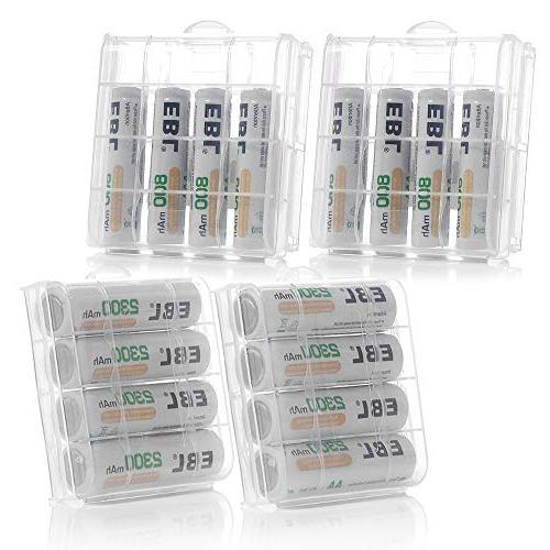 EBL 8PCS AA 8-Pack AAA Batteries