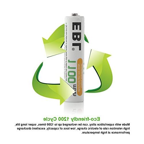 EBL Rechargeable Ready2Charge Ni-MH Battery -