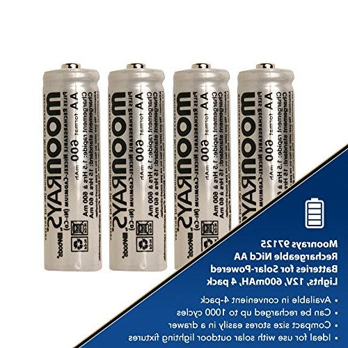 Moonrays Rechargeable for