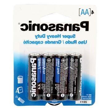 """Panasonic Batteries """"AA"""" 2 x 4 Pack"""