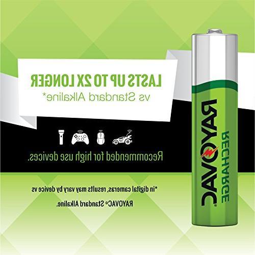 RAYOVAC AA Batteries, LD715-4OP GENE
