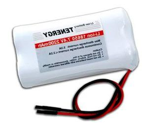 Tenergy 7.4V Li-ion 18650 2200mAh Rechargeable Battery Modul