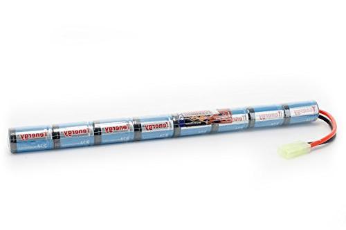 Tenergy Airsoft Battery 9.6V 1600mAh NiMH Stick Battery High