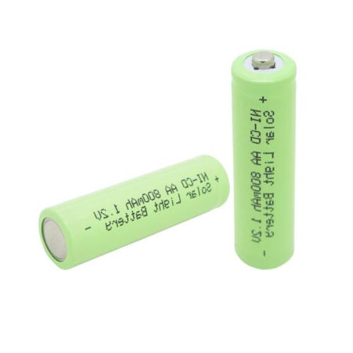 8x AA Size 800mAh Battery For Green