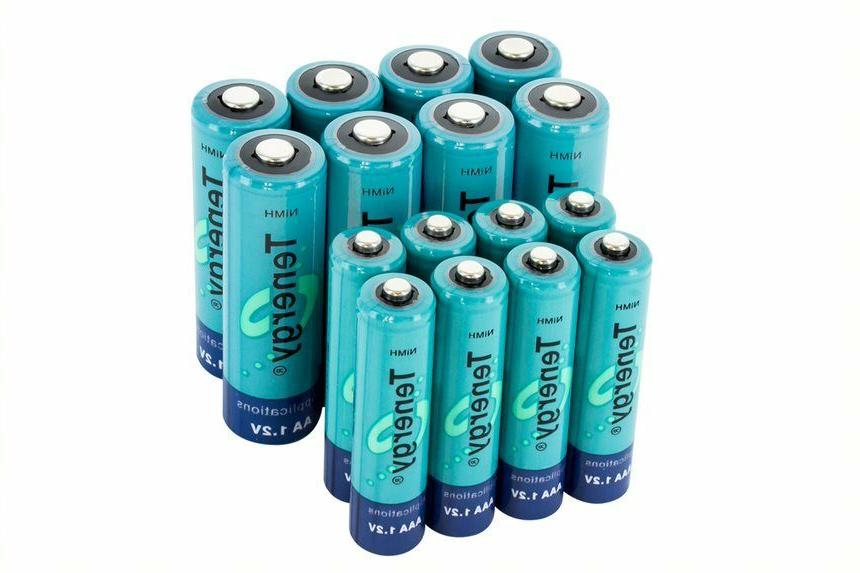 Tenergy AA/AAA/C/D/9V Size Capacity Rechargeable Batteries Cells Lot