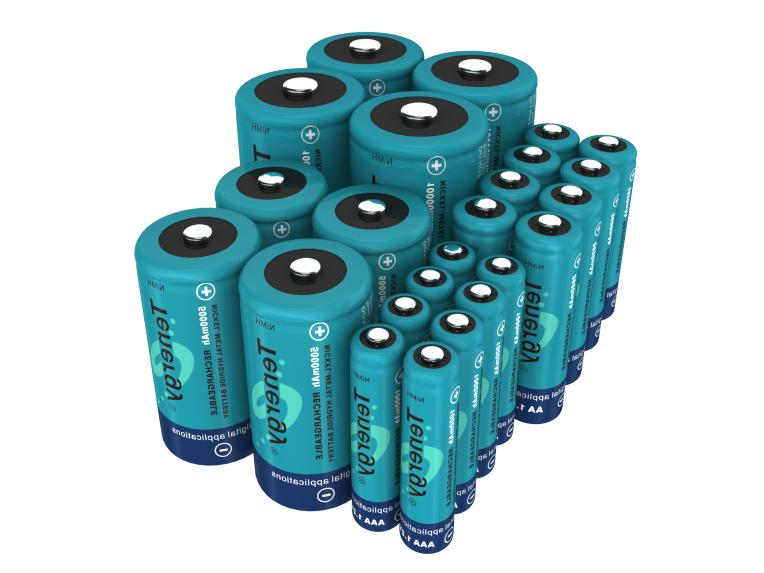 Tenergy Capacity NiMH Batteries Cells Lot