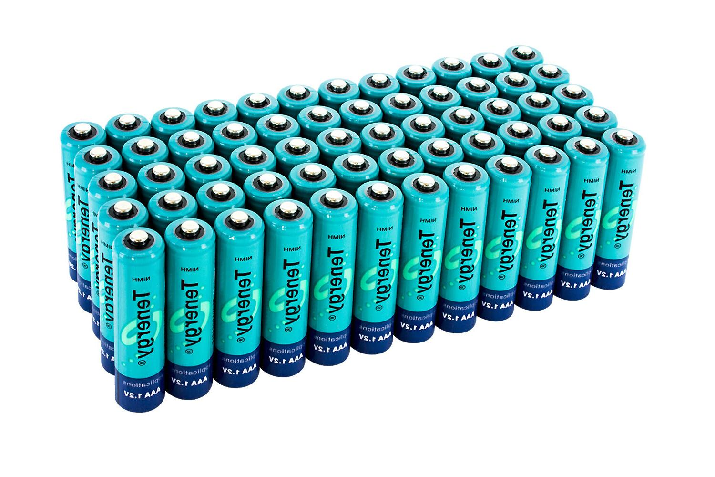 Tenergy AAA Capacity Batteries Cell Bulk