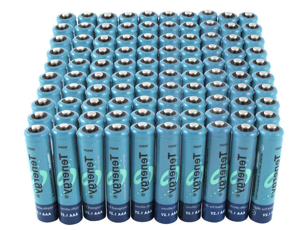 Tenergy High Capacity 1000mAh Batteries Bulk