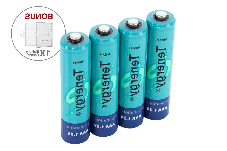 Tenergy Capacity 1000mAh NiMH Batteries Bulk