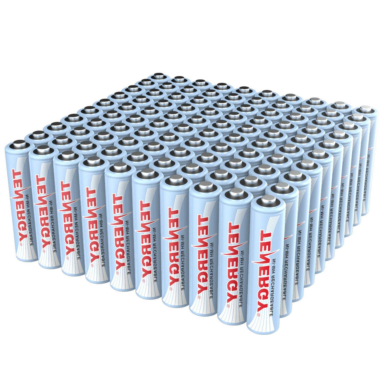 Tenergy AAA 1.2V High Capacity 1000mAh NiMH Rechargeable Bat