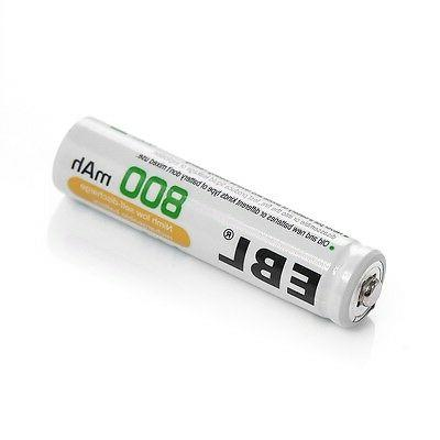 8x Batteries USB AAA NI-CD Charger