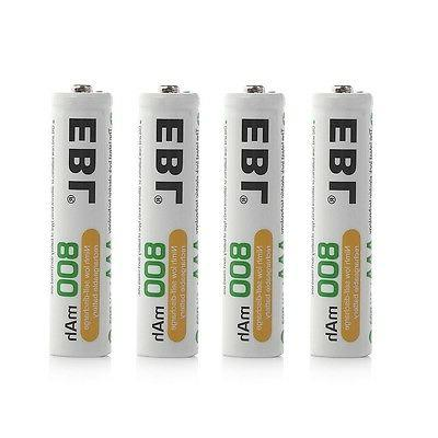 12x Rechargeable Batteries + 8-channel AA