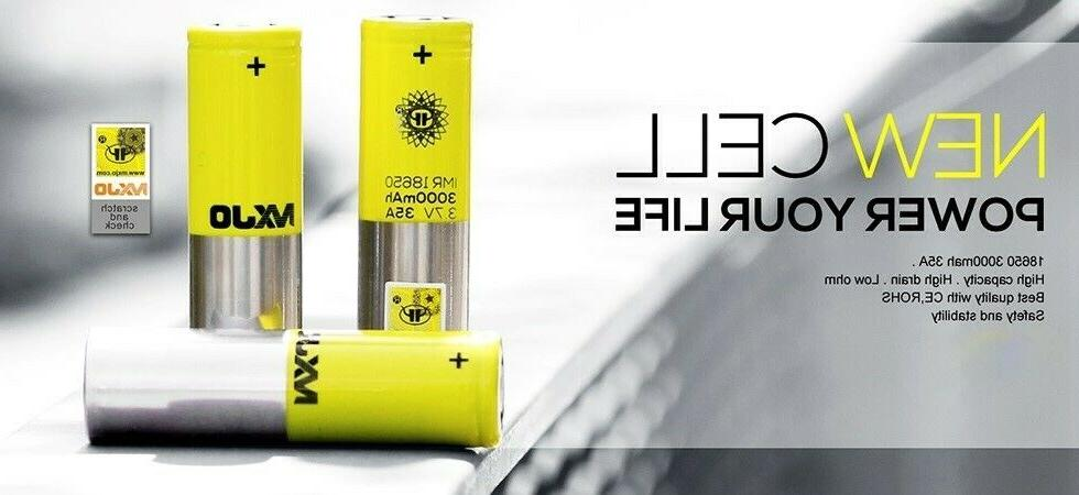Authentic MXJ0 High Drain 35A Batteries!