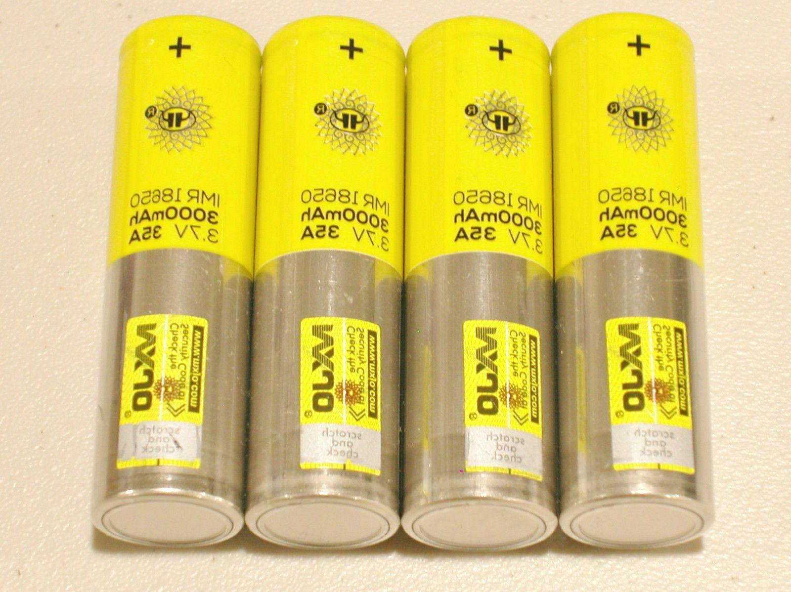 Drain Rechargeable 3.7V 35A Batteries!