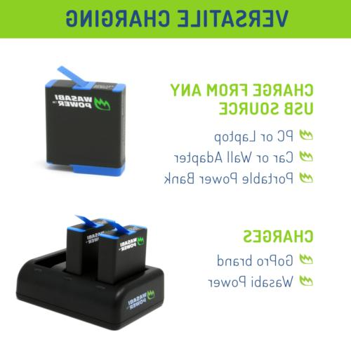 Wasabi Battery Charger for HERO7,