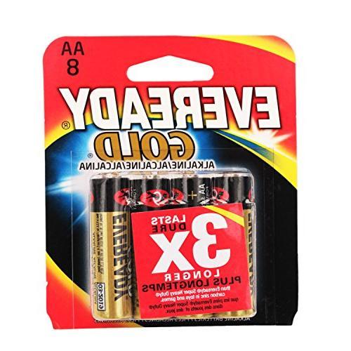 battery alkaline gold aa