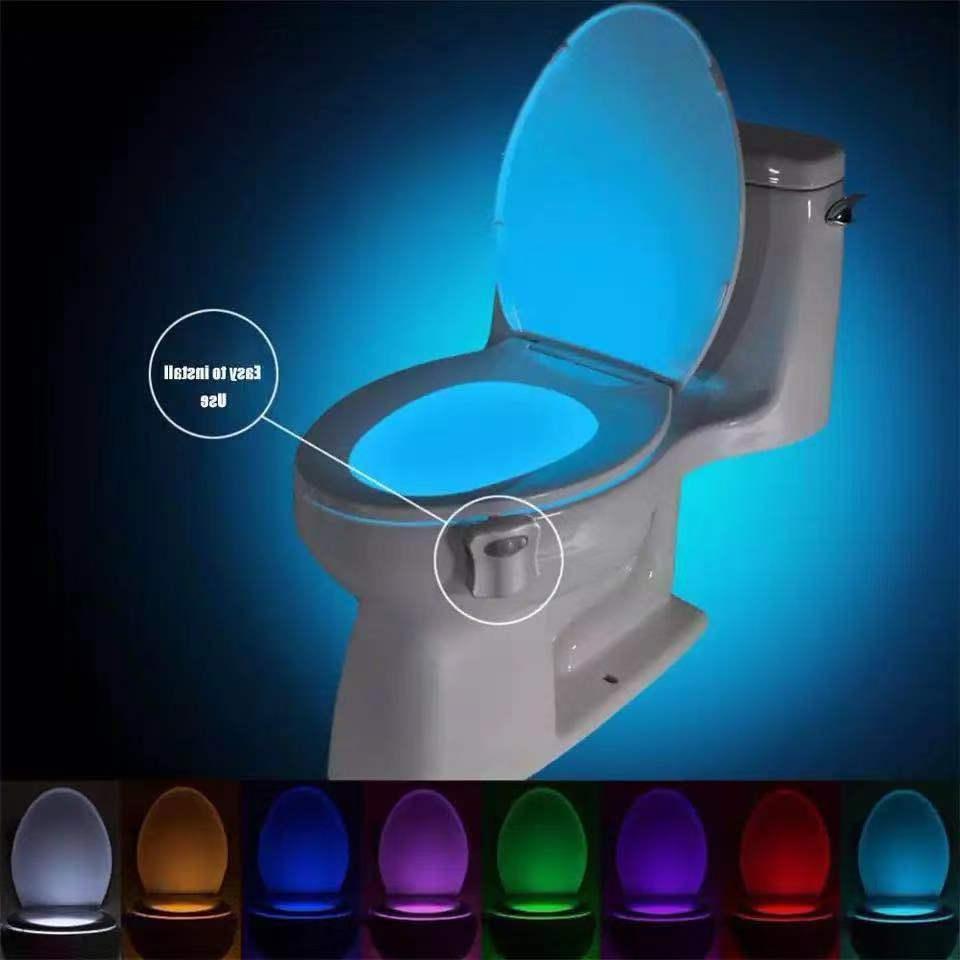 Bowl Bathroom Night LED Light