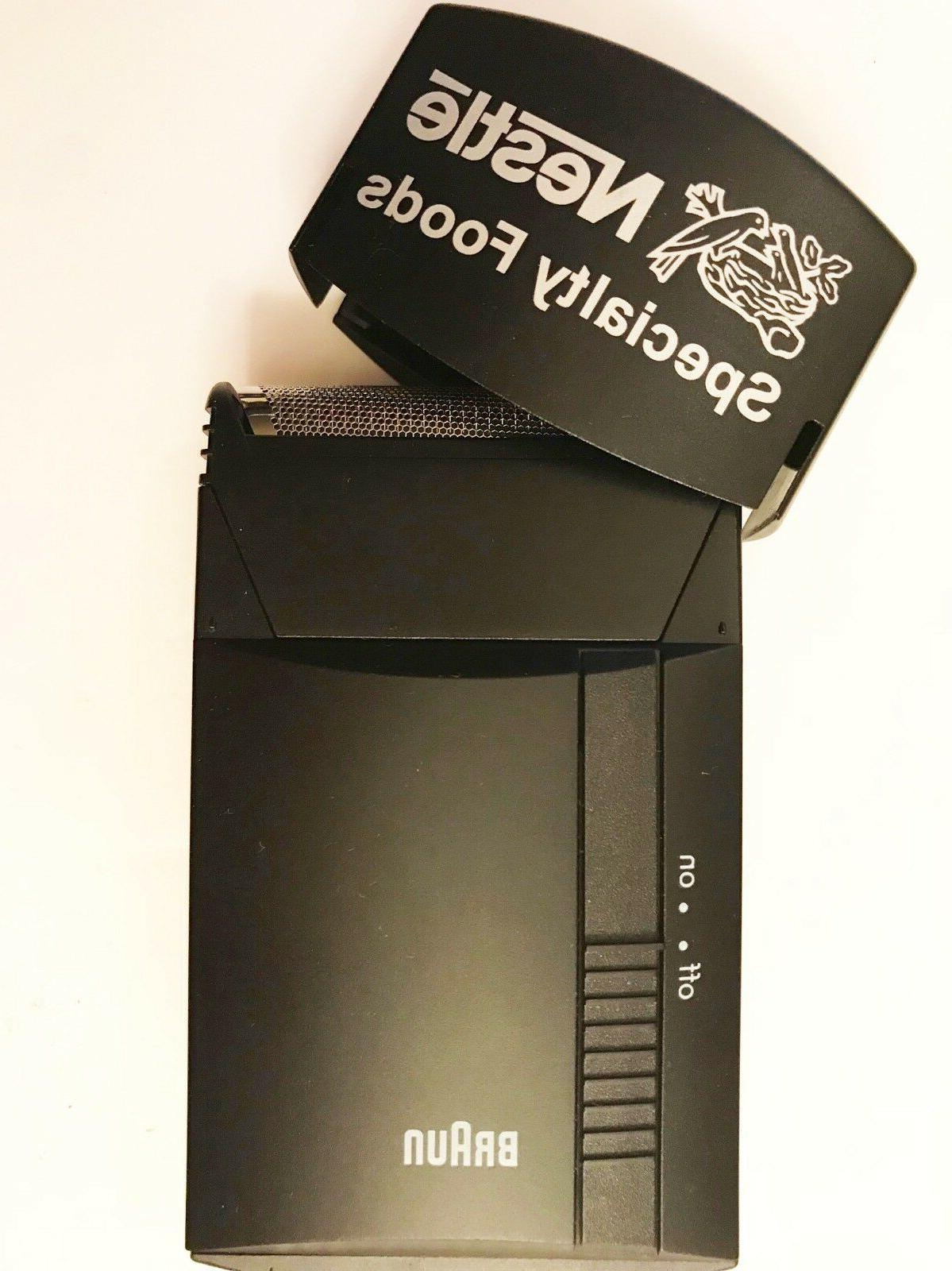 Braun Pocket New With New Batteries Vtg