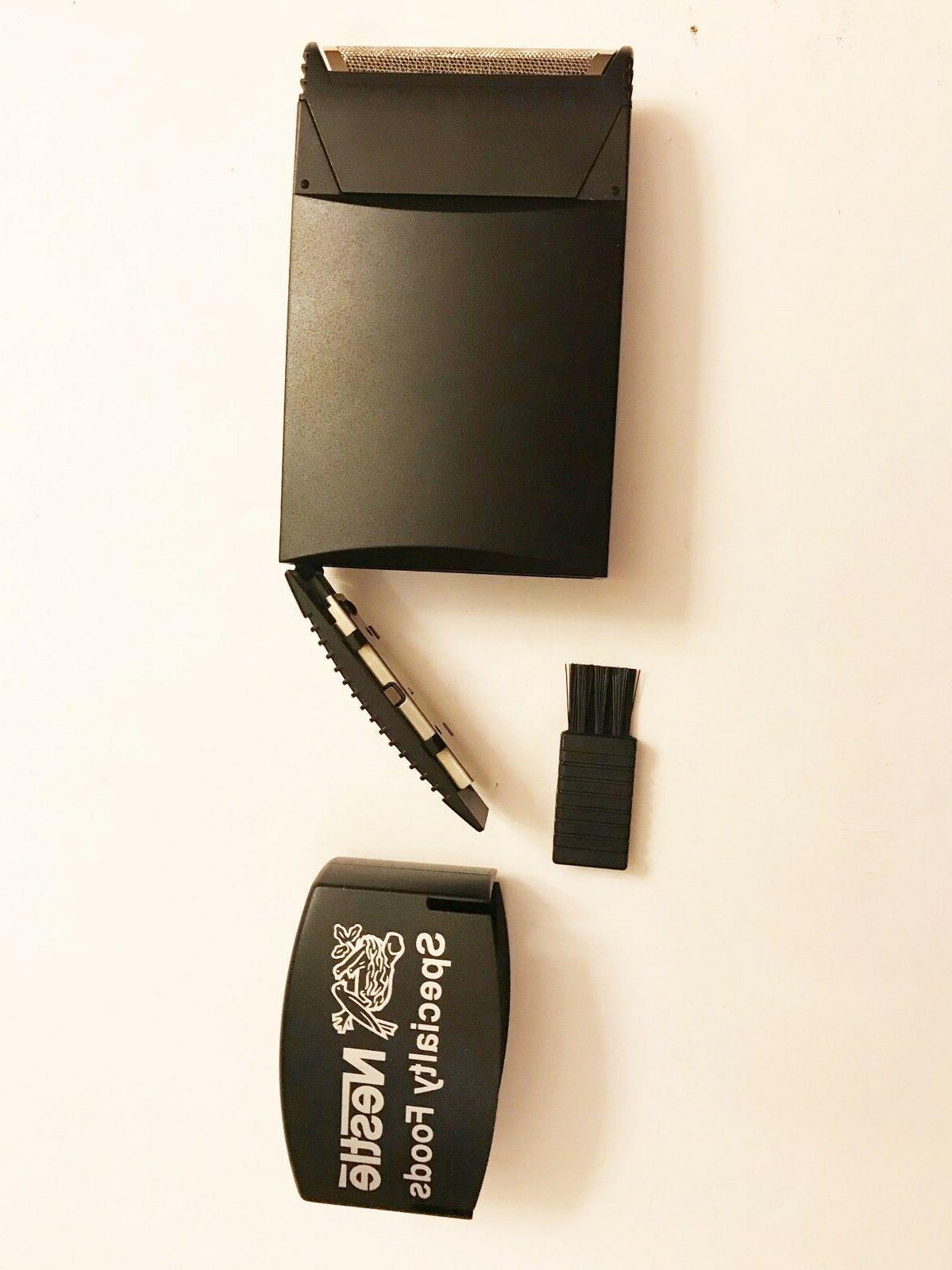 Braun Portable Pocket Shaver New Stock New Batteries Vtg